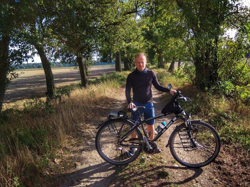 marcin burzyński, blog rowerowy