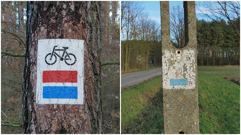 oznakowanie szlaku nadwarciańskiego