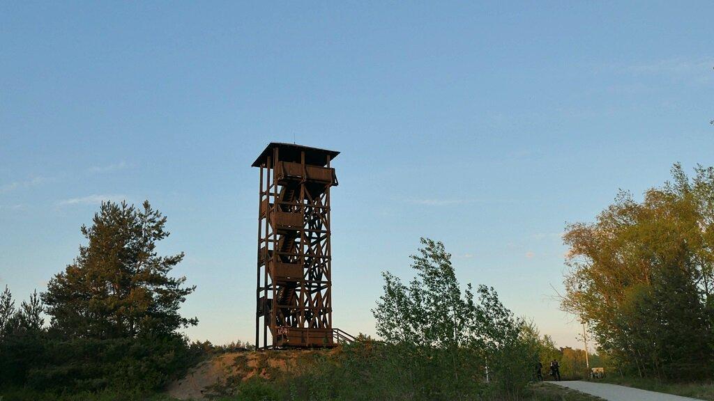wieża widokowa w mosinie, wielkopolski park narodowy atrakcje